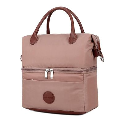 Cooler bag city style brown