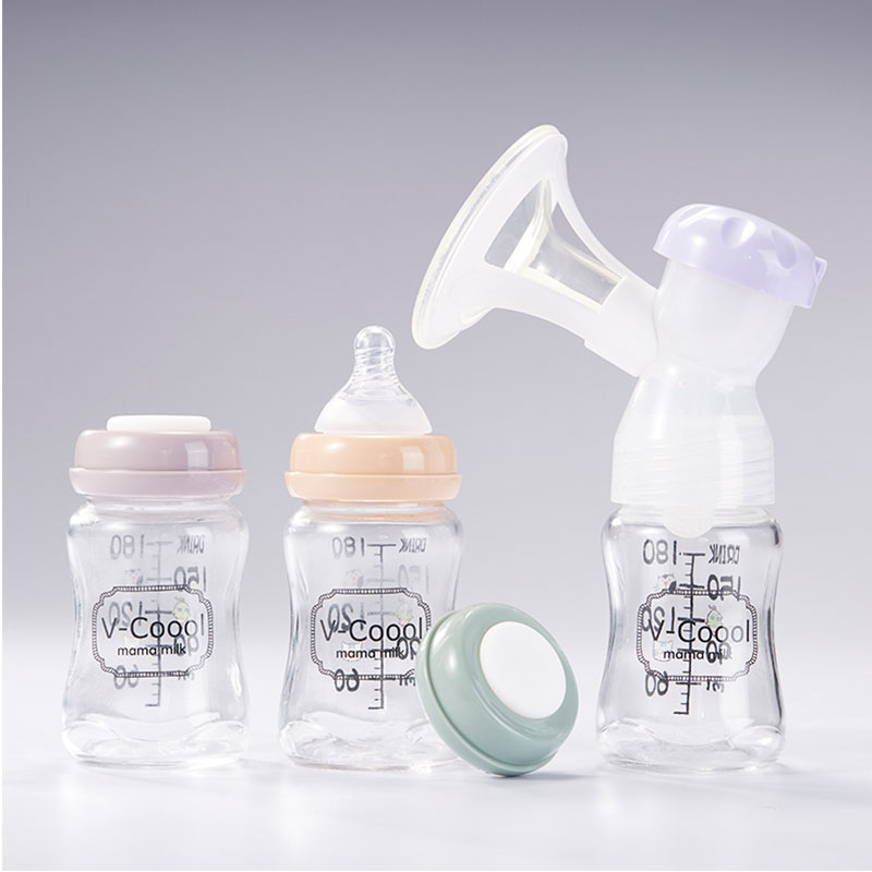 Large Scale Baby Bottle,Glass